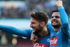 Hasil Liga Italia, Napoli Kembali Salip Juventus