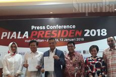 Distribusi Hadiah Piala Presiden 2018