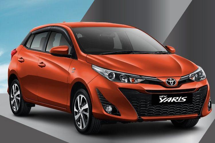 Toyota Yaris 2018 varian G.
