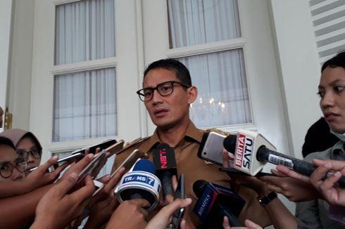 Sandiaga Terkejut Dengar Kasatpol PP DKI Dilaporkan ke Polisi