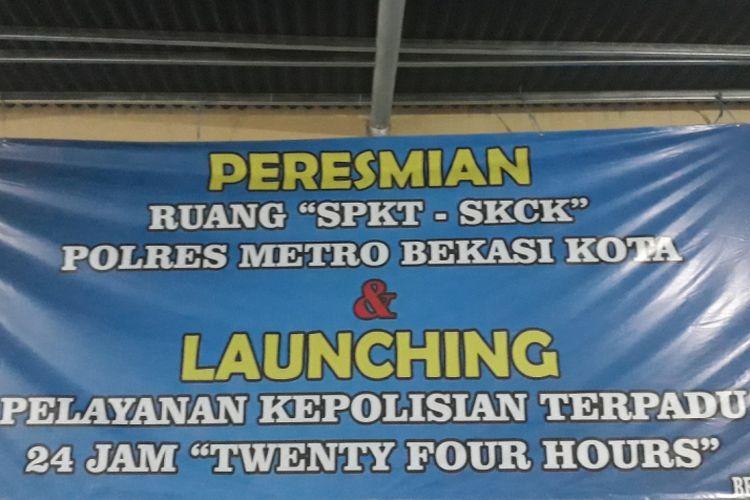 Polres Metro Bekasi Kota Buka Pelayanan 24 Jam Perpanjang SIM dan SKCK, Rabu (11/07/2018).