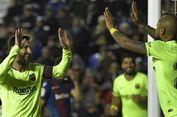 Levante Vs Barcelona, Rekor Baru Lionel Messi