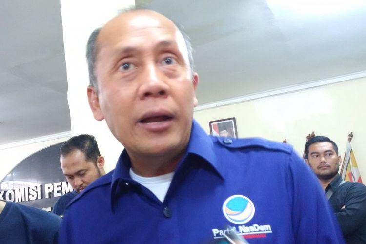 Ketua DPW Partai Nasdem Jawa Barat Saan Mustopha.
