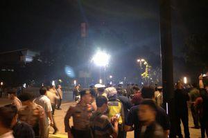 Suara Ledakan Keras Terdengar di Area Nobar Debat Kedua Capres di Parkir Timur GBK