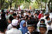 Ribuan Santri dan Ulama Padati Peringatan Hari Santri di Tasikmalaya