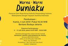 Dunia Warna-warni Para Penyandang Autisme di Bentara Budaya Jakarta