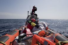 58 Migran Tewas Tenggelam di Mediterania, 100 Orang Hilang