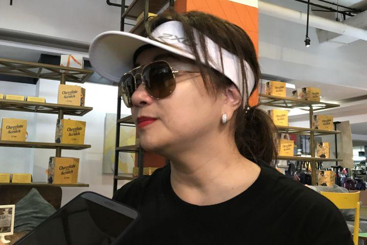 Direktu Retail PT Sarinah (Persero) Lies Permana Lestari di Sarinah Department Store Thamrin, Jakarta Pusat, Minggu (23/12/2018)