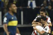 Penuh Drama, River Plate Juara Copa Libertadores di Santiago Bernabeu