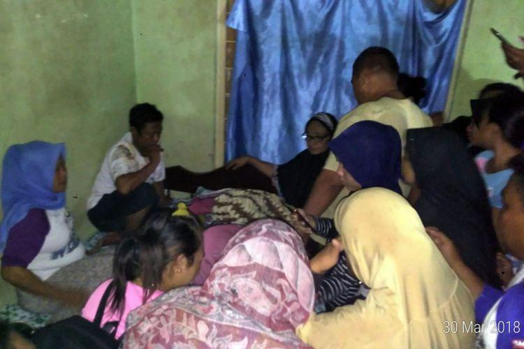 Korban meninggal dunia akibat longsor di Kelurahan Tenda Kota Gorontalo.