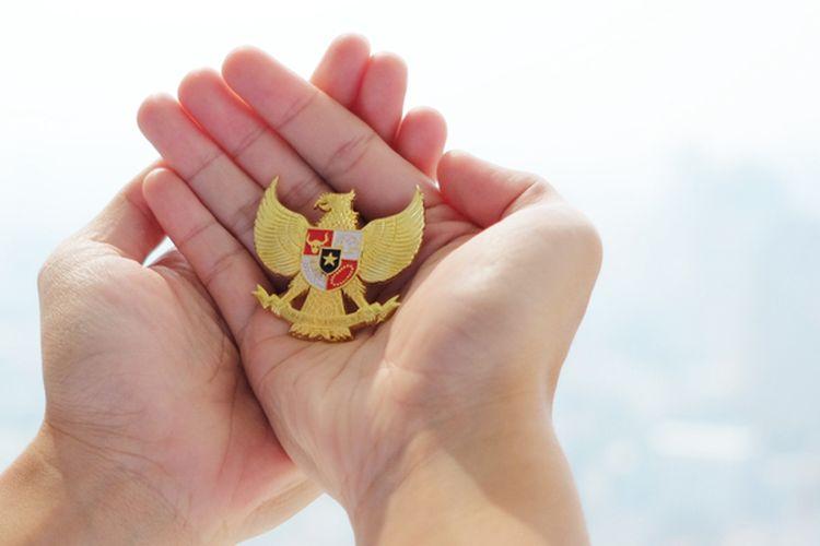 Ilustrasi persatuan Indonesia