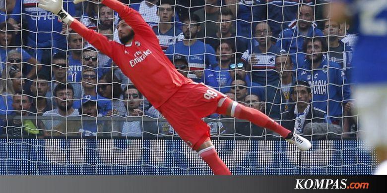 Donnarumma Pecahkan Rekor Pemain Muda di Liga Italia