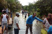 Sungai Kampar Riau Meluap, Warga Kebanjiran