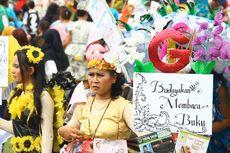 Seribuan Peserta Karnaval Literasi Gramedia Meriahkan Hari Ibu