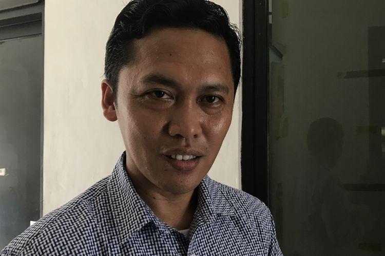 Ketua KPU Jakarta Timur memenuhi panggilan Bawaslu DKI Jakarta, Kamis (25/4/2019). KPU Jakarta Timur dilaporkan oleh Badan Pemenangan Provinsi (BPP) Prabowo-Sandiaga karena melakukan kesalahan input form C1 dalam Situs Informasi Penghitungan Suara pada 20 April 2019.