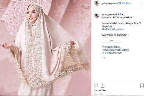 Mantan Ketua DPR Marzuki Alie Bela Syahrini soal Pajak Bisnis Mukena