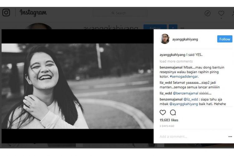 Kahiyang Ayu, putri Presiden Joko Widodo