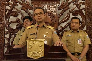 Gubernur Anies 'Groundbreaking' Pembangunan Rumah DP 0 Rupiah
