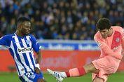 Alaves vs Barcelona, Carlos Alena Cetak Gol Pertama untuk Barcelona