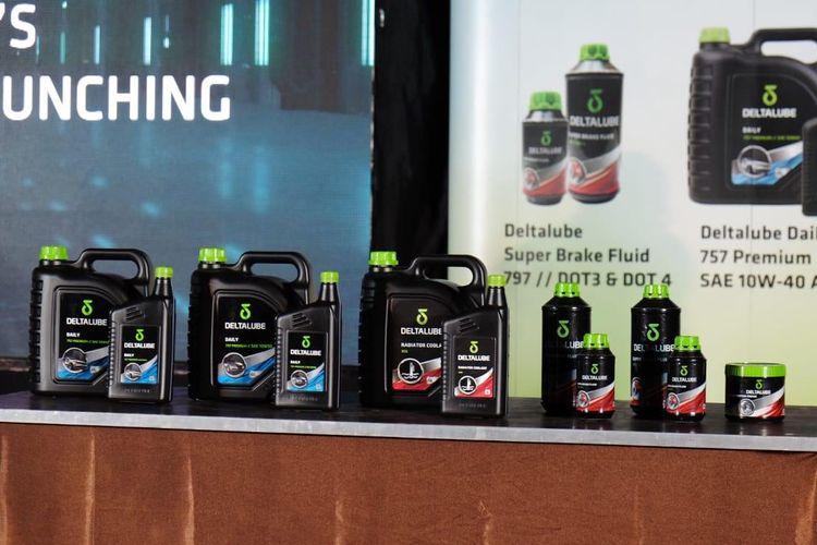 Deltalube luncurkan enam produk baru untuk segemen otomotif