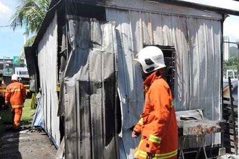 Bermain Korek Api di Dalam Kontainer, Bocah Usia 8 Tahun Hangus Terbakar