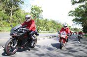Pacu Honda CBR250RR Menuju HBD 2017