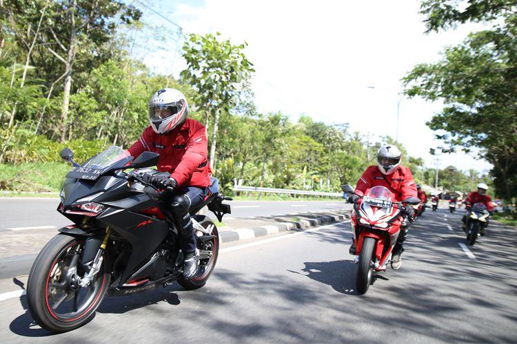 Touring Honda CBR250RR ke HBD