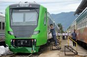 Kaca Kereta Bandara Minangkabau Ekspres Pecah Dilempar Orang Tidak Dikenal