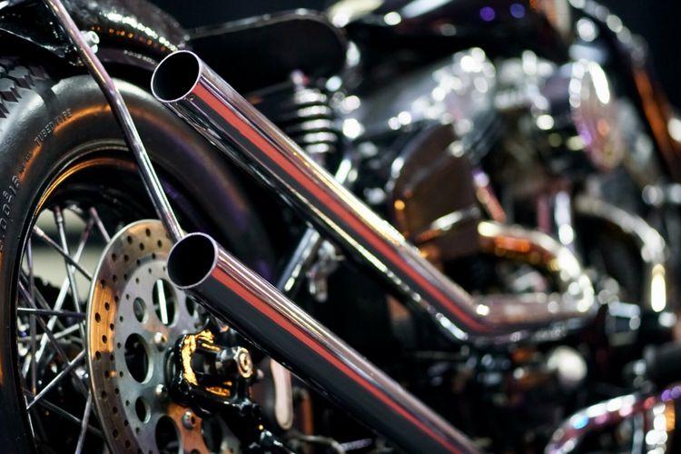 Kustom Harley Bobber Makassar