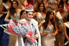 Kevin Lilliana Sempat Lemas Saat Dinobatkan Jadi Pemenang Miss Internasional 2017