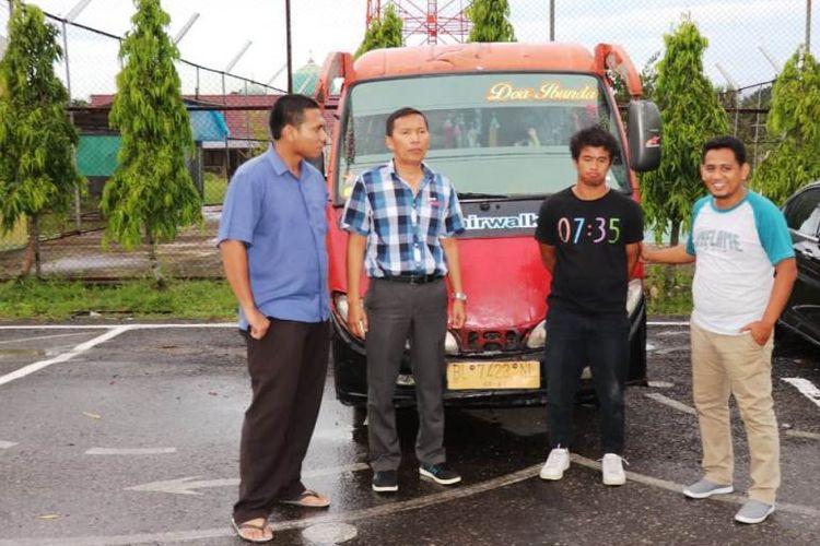 Polisi mendalami kasus pencabulan sopir minibus di Mapolres Aceh Utara, Aceh, Kamis (20/6/2019)
