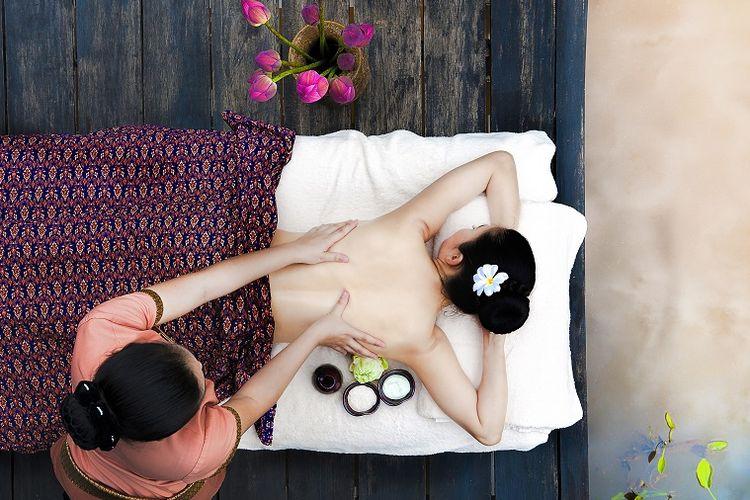 Ilustrasi spa di Thailand