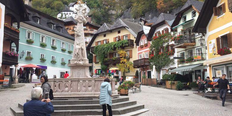 Hallstatt di Austria.