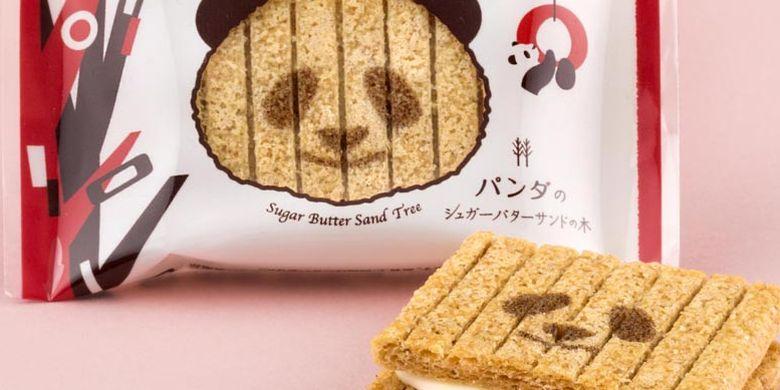 Toko kue Sugar Butter Tree di Tokyo, Jepang ini merupakan toko yang khusus menjual kue-kue yang terbuat dari bahan sereal. Mereka merilis produk terbaru berupa kue Panda Sugar Butter Sand Tree yang dimasukkan ke dalam tas kue berbentuk panda.