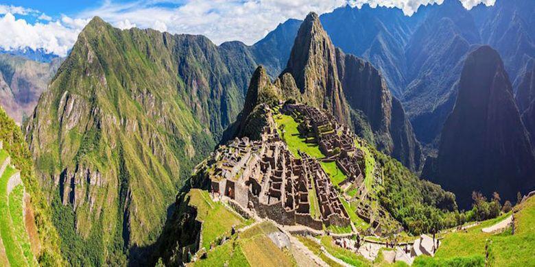 Machu Picchu di Peru.