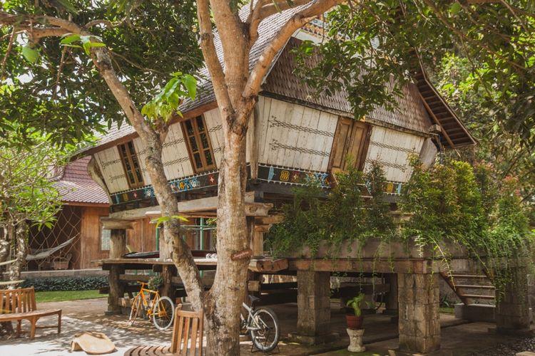 Sumatran Karo House di Bali.
