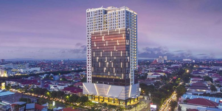 ONe East Penthouse and Residences Collection, Kertajaya Indah, Surabaya, Jawa Timur.
