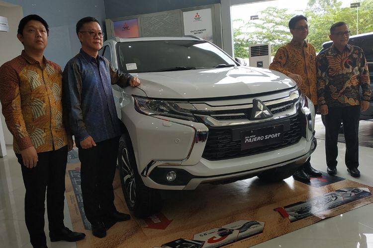 Mitsubishi resmikan diler penumpang pertama di Batam
