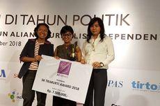 Suarakan Perjuangan Perempuan, Jurnalis Devi Asmarani Raih Penghargaan SK Trimurti