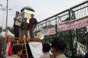 Demo DPR, Mahasiswa Desak Usut Kematian Anggota KPPS