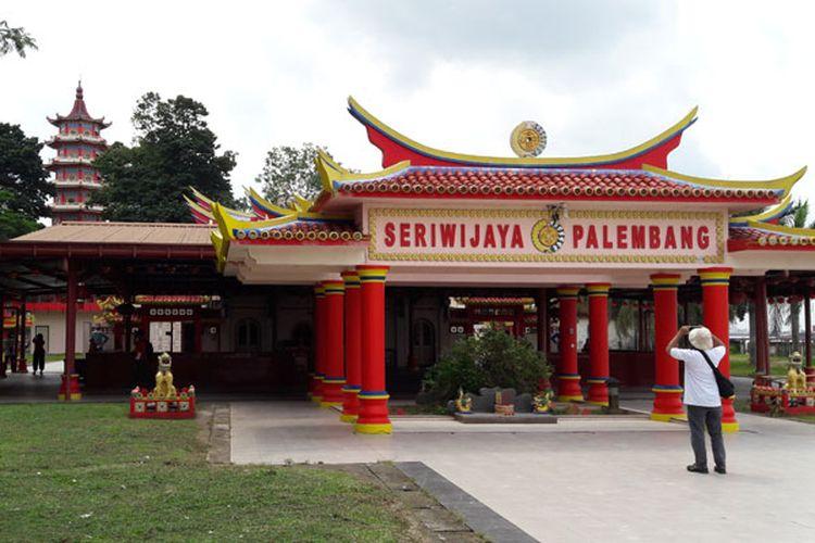 Pulau Kemaro di Palembang, Sumatera Selatan, Selasa (22/8/2017).