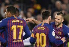 Hasil Copa Del Rey, Lionel Messi Samai Legenda Klub, Blaugrana Lolos