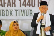Ma'ruf Amin: Santri Bisa Jadi Pejabat, Gubernur, Presiden...