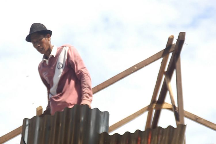 23 Rumah Warga di Sidrap Rusak Dilangan Angin Puting Beliung