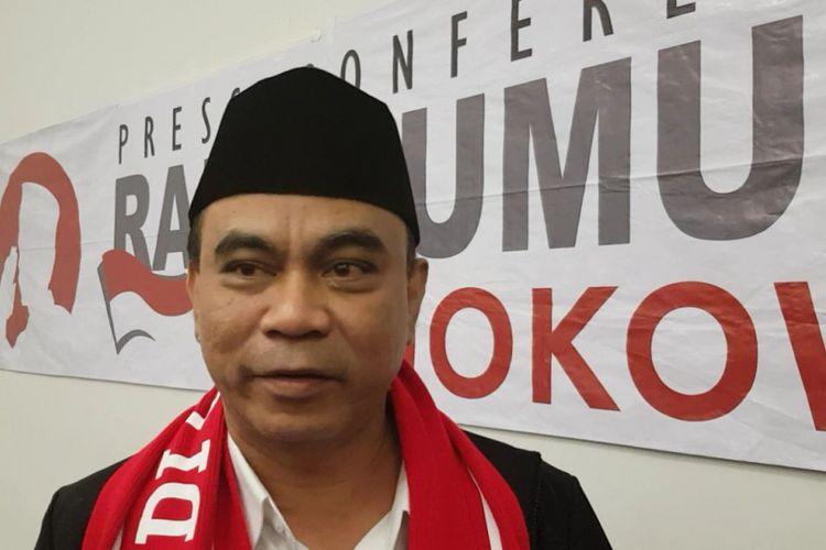 Ketua Umum Projo Budi Arie Setiadi di Sentul, Sabtu (4/8/2018).