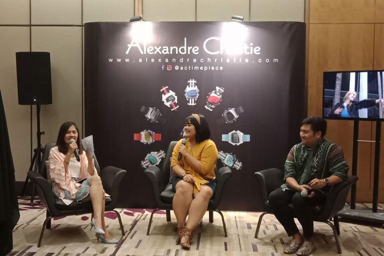 Sesi diskusi Alexandre Christie AC DIGI yang akan diluncurkan Januari 2019 mendatang.