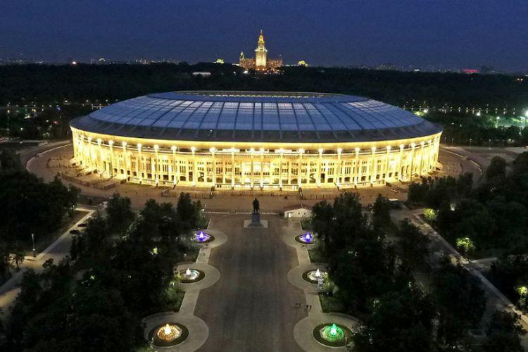 Luzhniki Stadium di  Moskwa, Rusia.