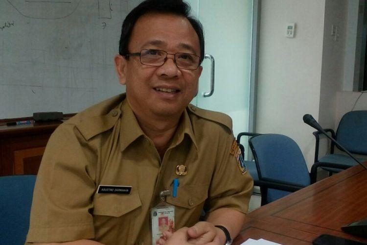 KepalaDinas Perumahan Rakyat dan Permukiman DKI JakartaAgustino Darmawan, saat ditemui di kantornya, Selasa (5/9/2017).