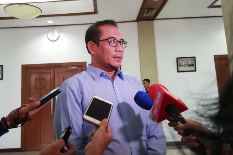 Komisioner Komisi Pemilihan Umum (KPU) Hasyim Asyari
