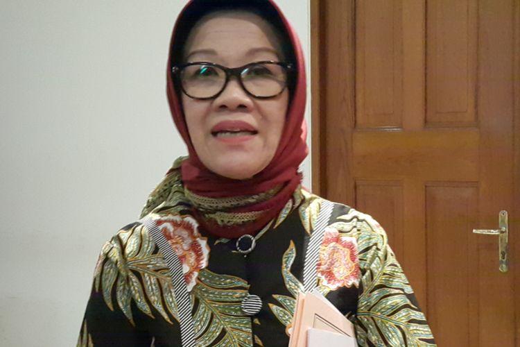 Kepala Badan Perencanaan Pembangunan Daerah (Bappeda) DKI Jakarta Tuty Kusumawati di Balai Kota DKI Jakarta, Jalan Medan Merdeka Selatan, Jumat (6/10/2017).